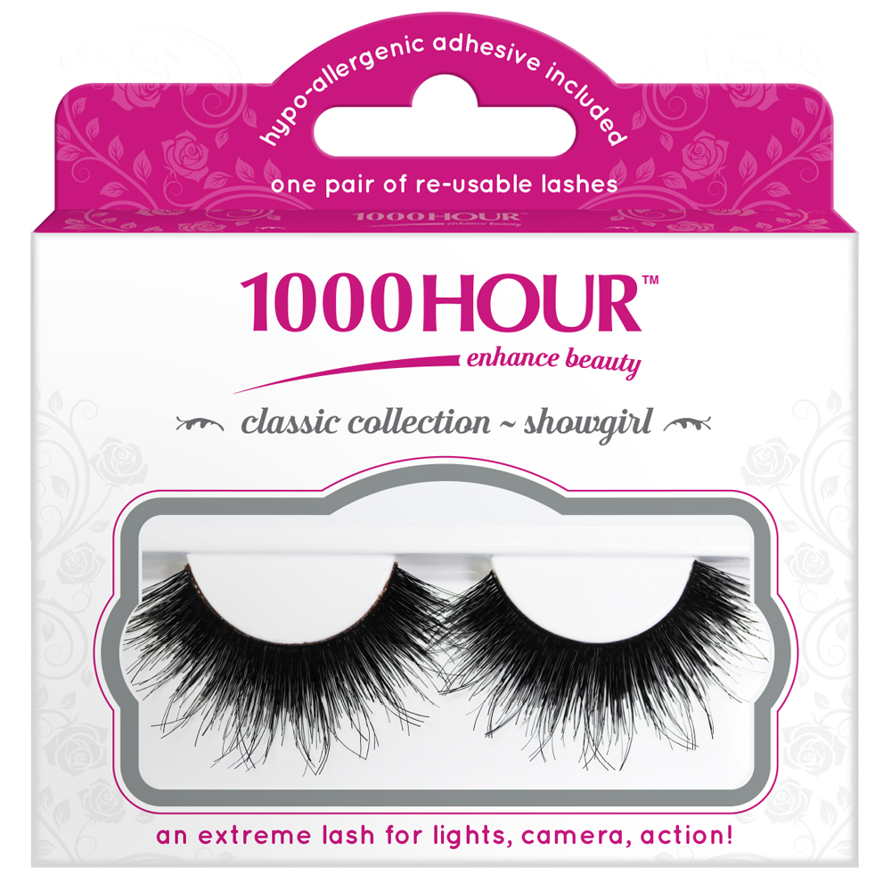 Image of 1000 Hour 1000 Hour Classic Collection Lashes - Showgirl 1 Pair