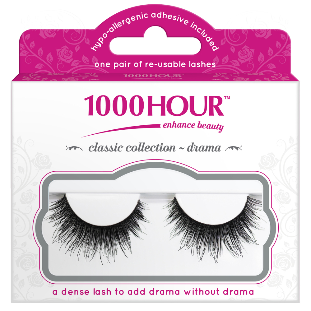 Image of 1000 Hour 1000 Hour Classic Collection Lashes - Drama 1 Pair