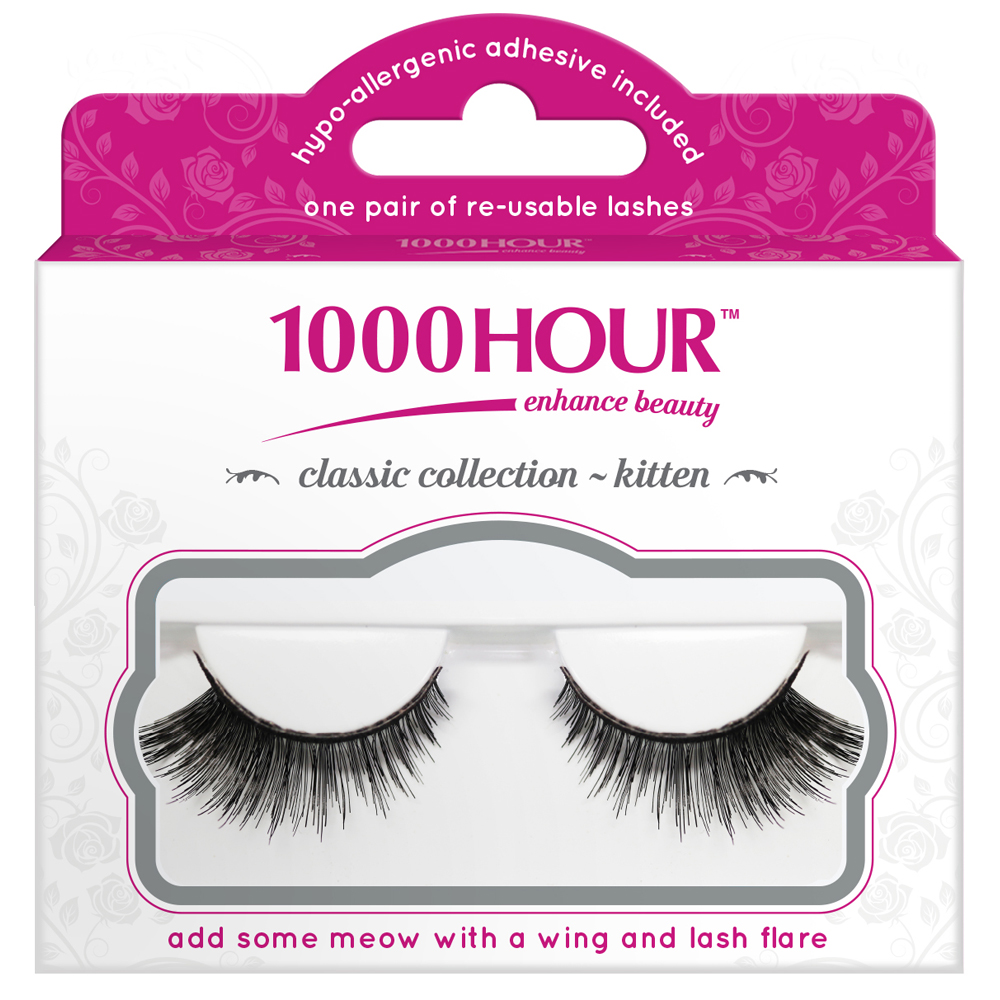 Image of 1000 Hour 1000 Hour Classic Collection Lashes - Kitten 1 Pair
