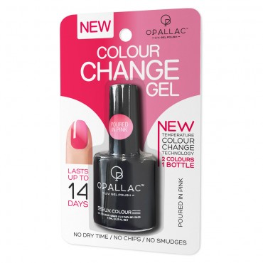 Buy Colour Change Gel UV Polish 7.5 mL by Opallac Online | Priceline