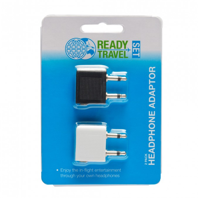 Ready Set Travel Headphone Adaptor 2 pack