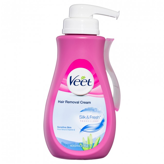 Buy Hair Removal Cream Sensitive Skin 400 Ml By Veet Online