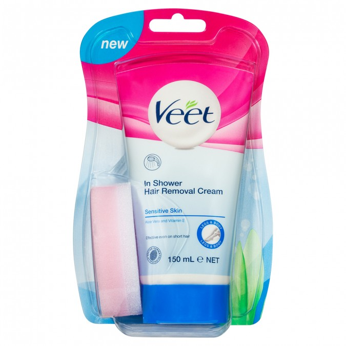 Buy Hair Removal Cream Sensitive Skin 150 Ml By Veet Online Priceline