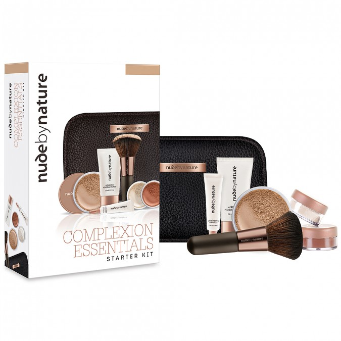 Nude By Nature Complexion Essentials Starter Kit in Light 1 Kit | Tuggl