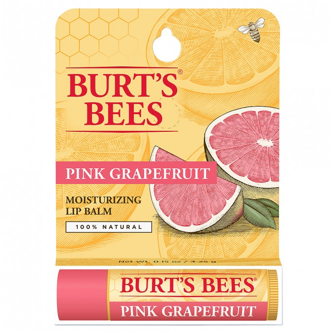 Burts Bees Refreshing Pink Grapefruit Lip Balm Tube  4.3 g