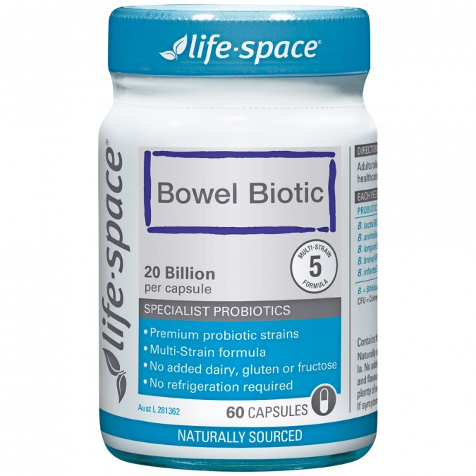 Life Space Bowel Biotic 60 capsules
