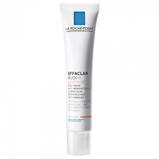 La Roche-posay Effaclar Duo (+) Unifiant Medium 40 mL | Tuggl