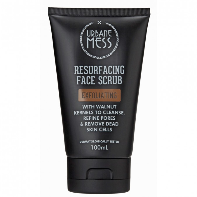 Urbane Mess Resurfacing Face Scrub 100 mL
