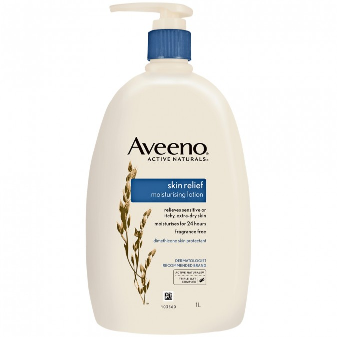 Skin Relief Lotion 1 Litre by Aveeno