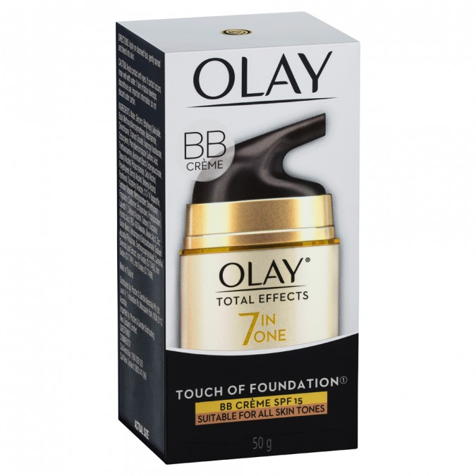 Olay Total Effects Touch of Foundation BB Crème SPF15 50 g