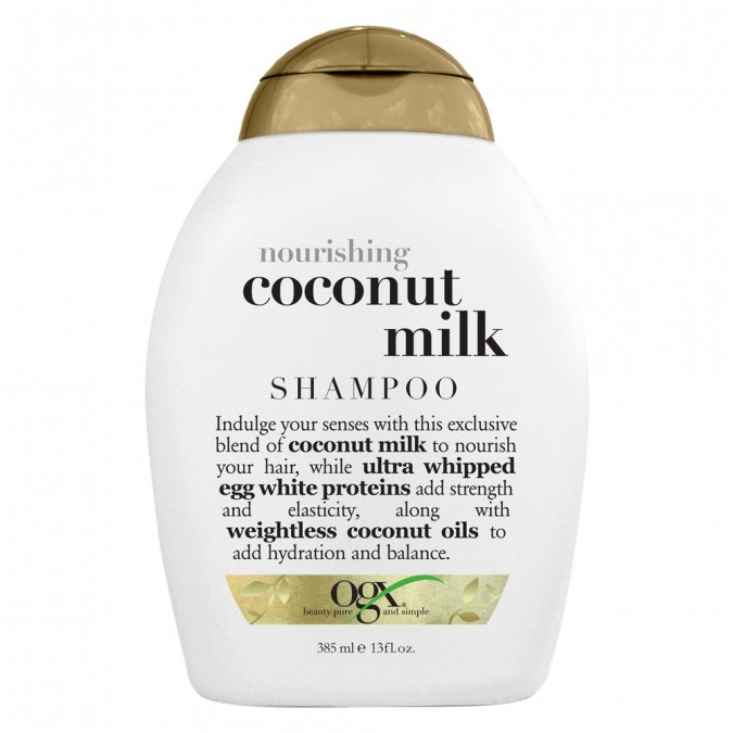 Ogx Shampoo Nourishing Coconut Milk 385 mL