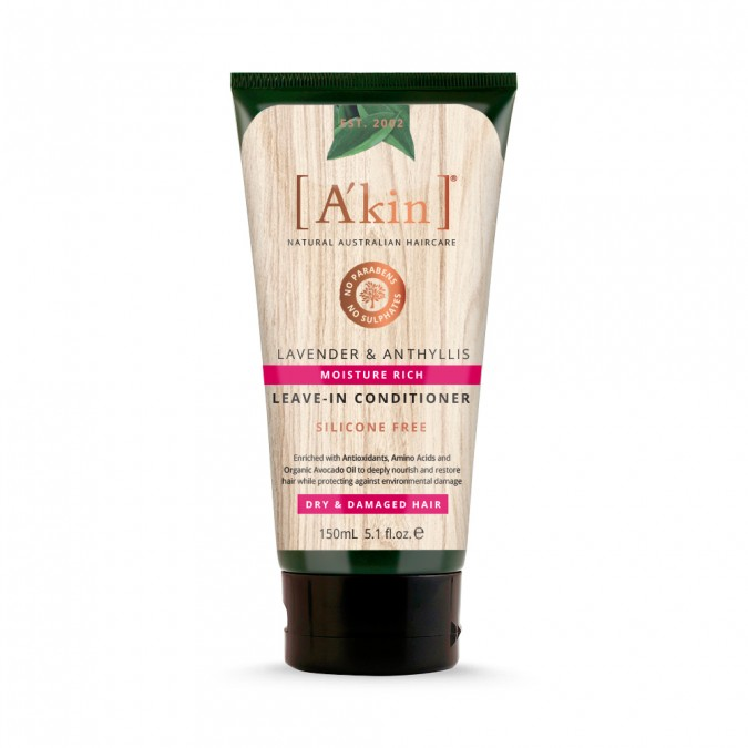 A'kin Moisture Lavender & Anthyllis Leave-In Conditioner 150 mL