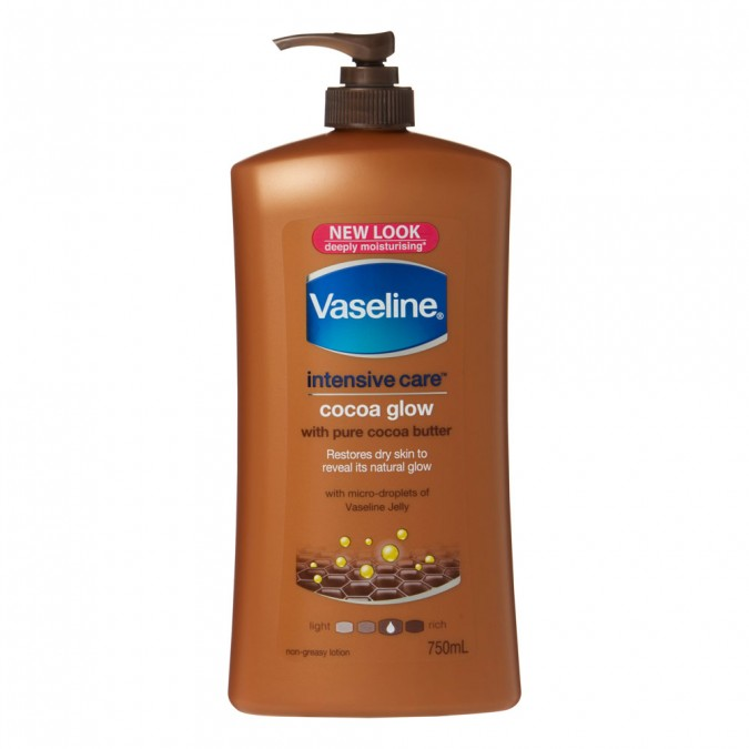 Intensive Care Body Lotion Cocoa Glow 750 M L by Vaseline