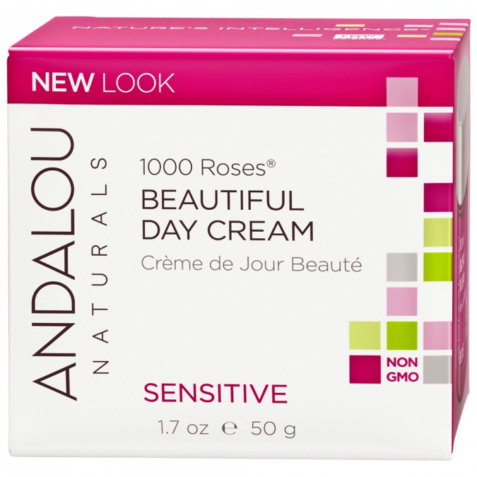 Andalou Naturals 1000 Roses® Beautiful Day Cream 50 g