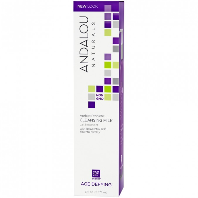 Andalou Naturals Age Defying Apricot Probiotic Cleansing Milk 178 mL