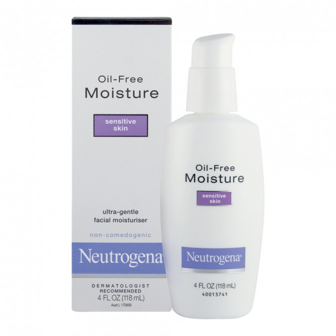 Neutrogena® Sensitive Skin Moisturiser 118 mL