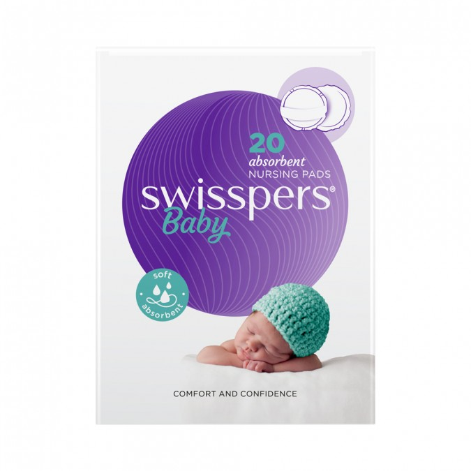 Swisspers Round Nursing Pads 20 pack