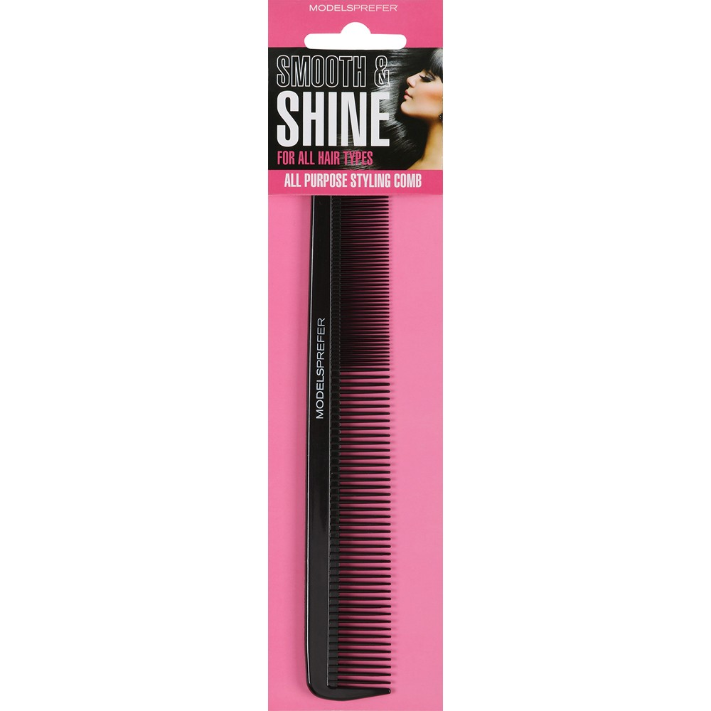 buy smooth shine all purpose styling comb 1 ea by models prefer
