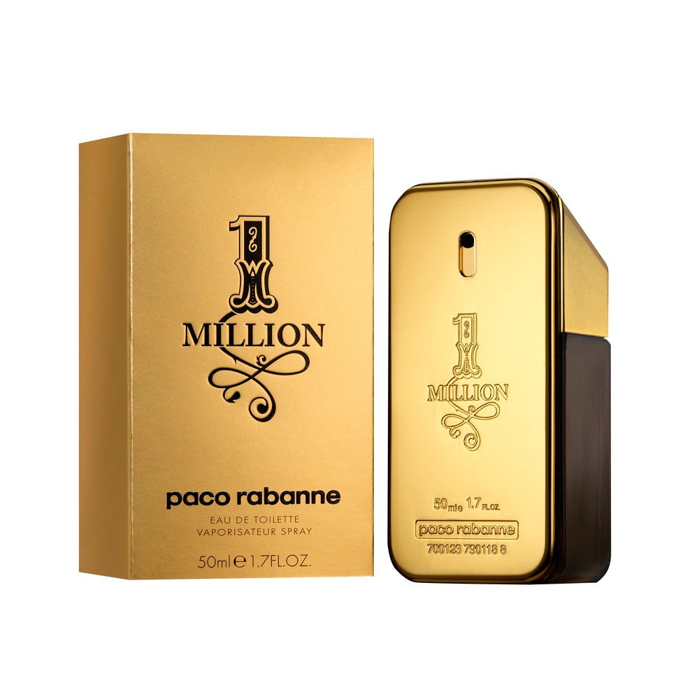 buy paco rabanne one million edt 50 ml by paco rabanne. Black Bedroom Furniture Sets. Home Design Ideas