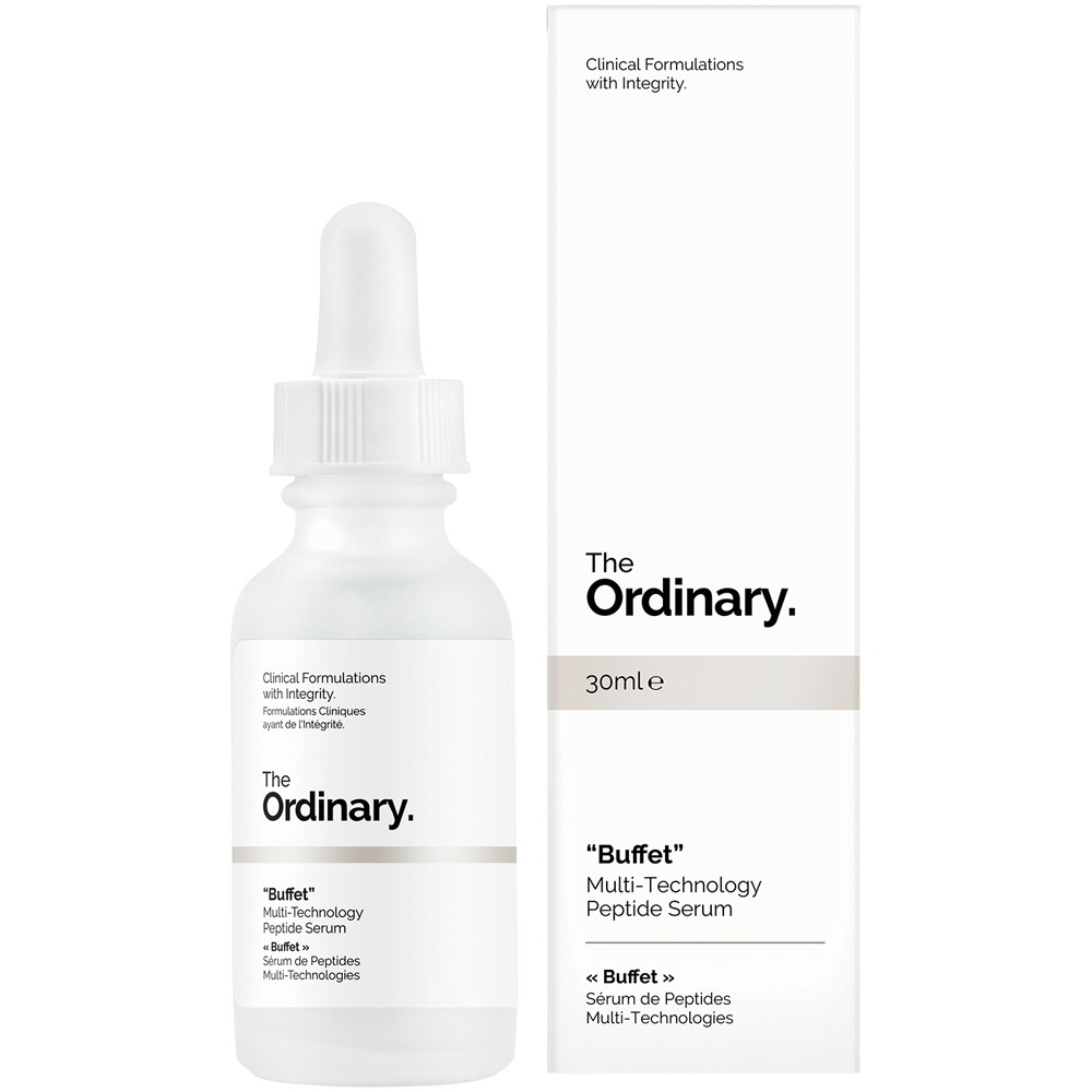 Buy Buffet Multi Technology Peptide Serum 30 Ml By The Ordinary Online Priceline