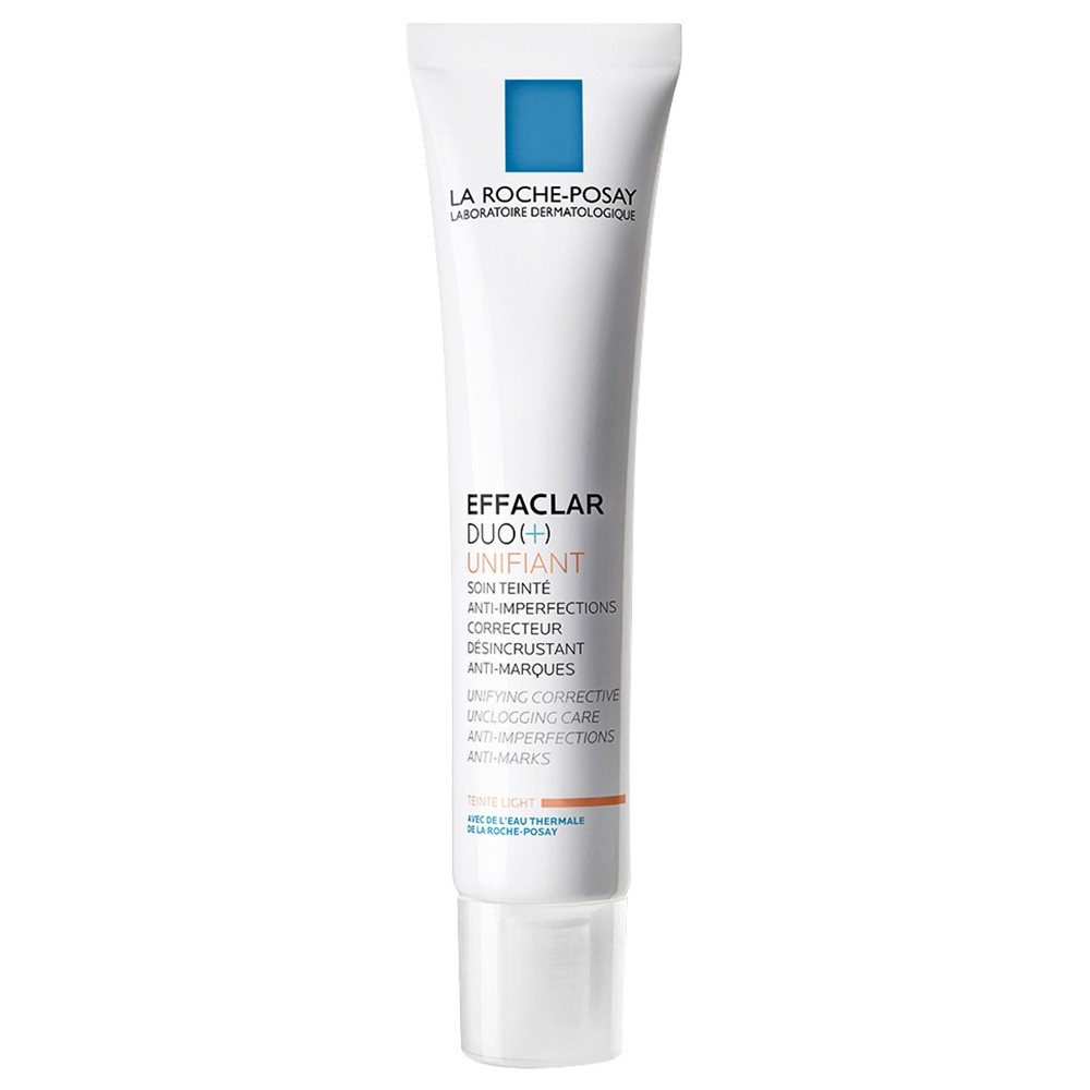 buy effaclar duo unifiant light 40 ml by la roche. Black Bedroom Furniture Sets. Home Design Ideas