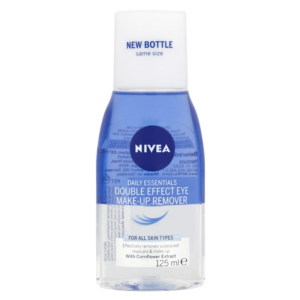 Buy Double Effect Waterproof Eye Make Up Remover 125 ML By Nivea Online | Priceline