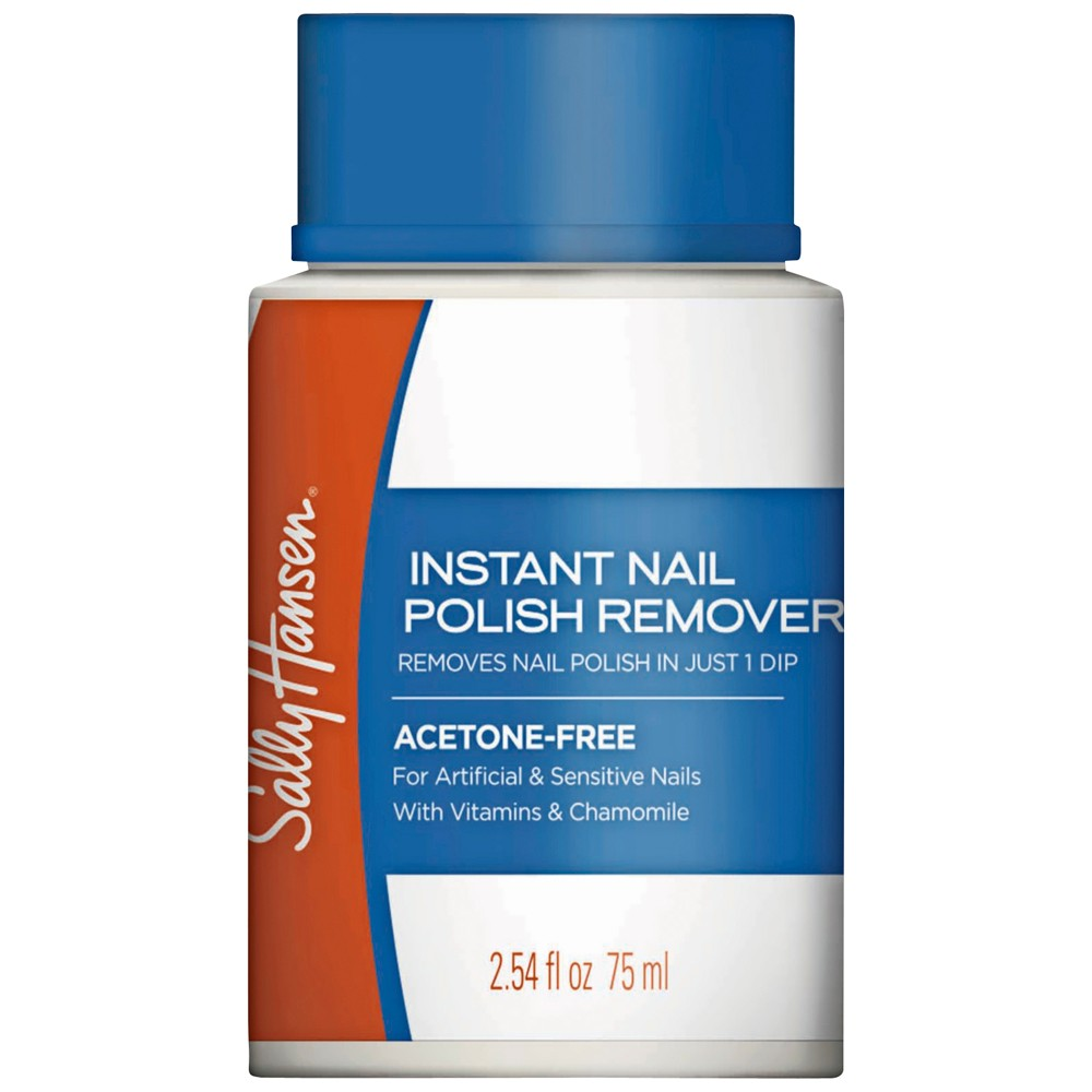 Buy Nail Polish Remover Pot Acetone Free 75 mL by Sally Hansen ...