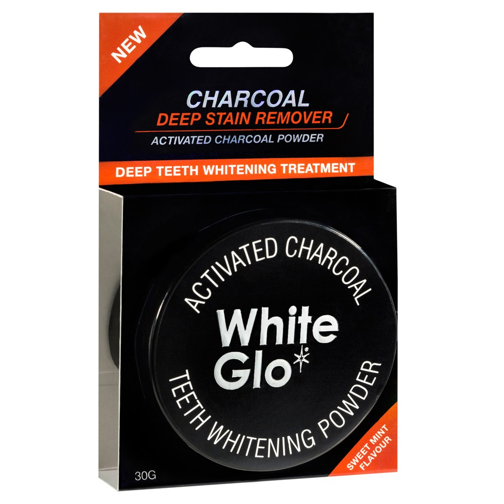white glo activated charcoal powder how to use
