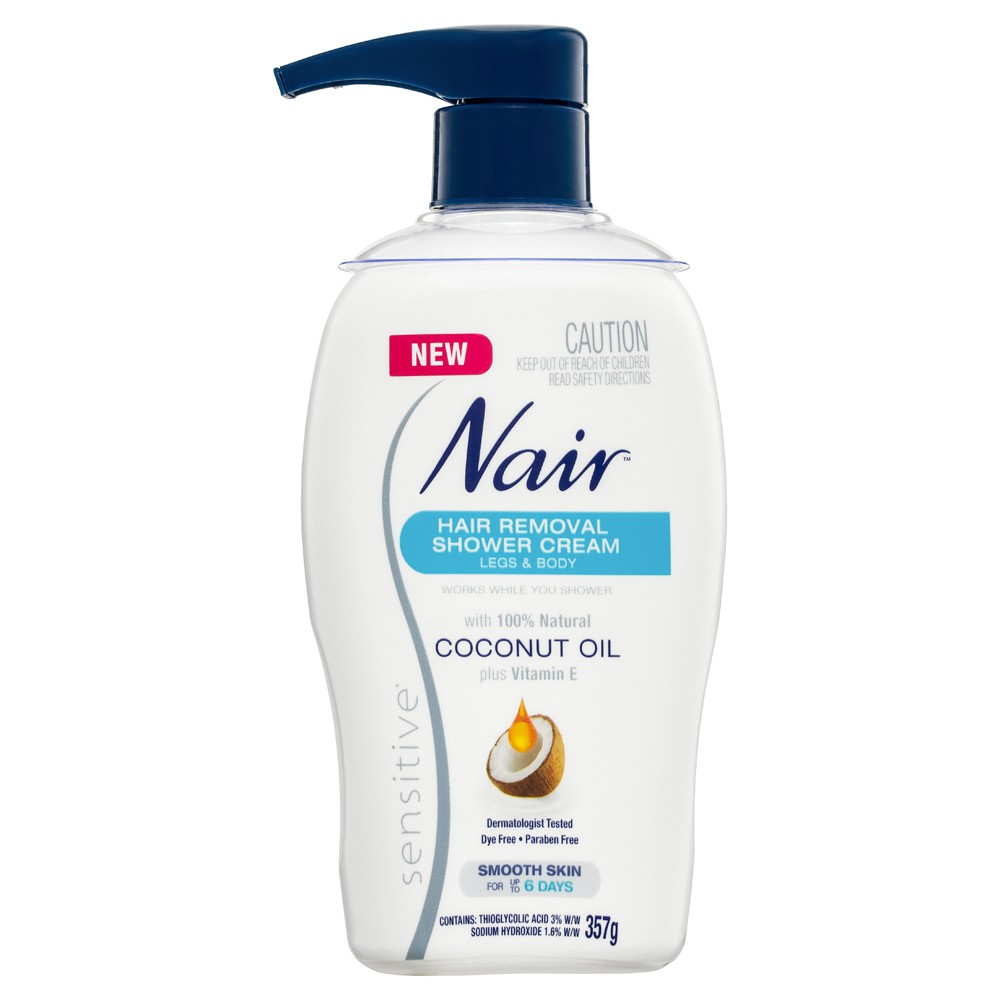 Buy Sensitive Hair Removal Shower Cream 357 G By Nair Online