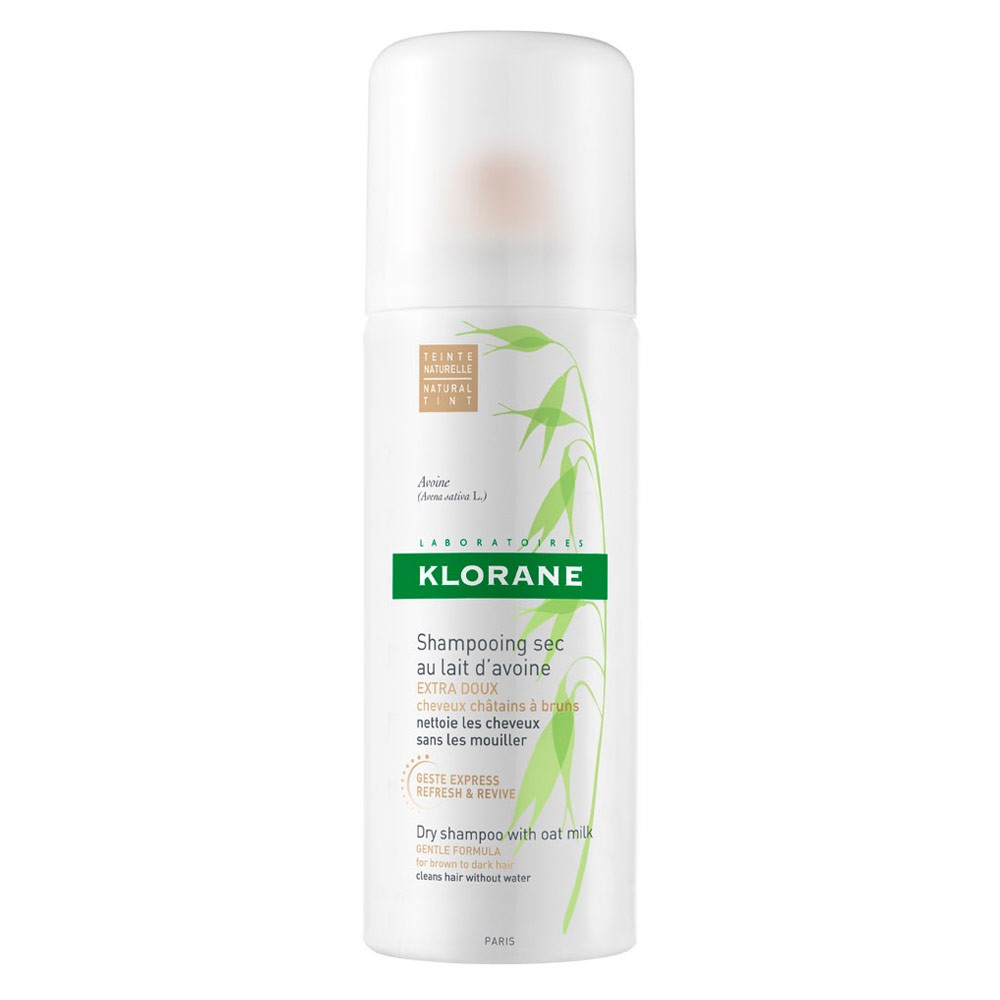 Klorane Dry Shampoo Buy Dry Shampoo With Oat Milk For Brown To Dark Hair 50 Ml By