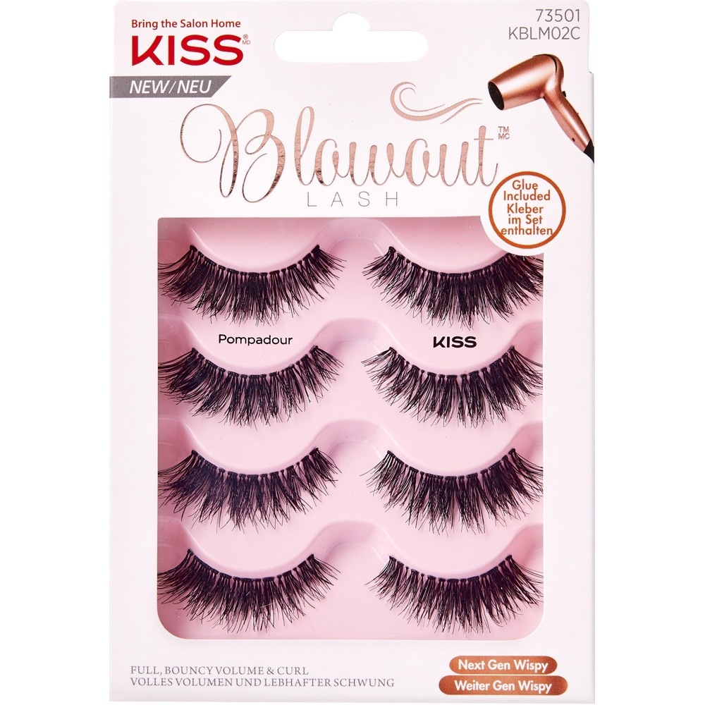 cd9ca765122 Buy Blowout Lashes Pompadour 4 Pairs by Kiss Online | Priceline