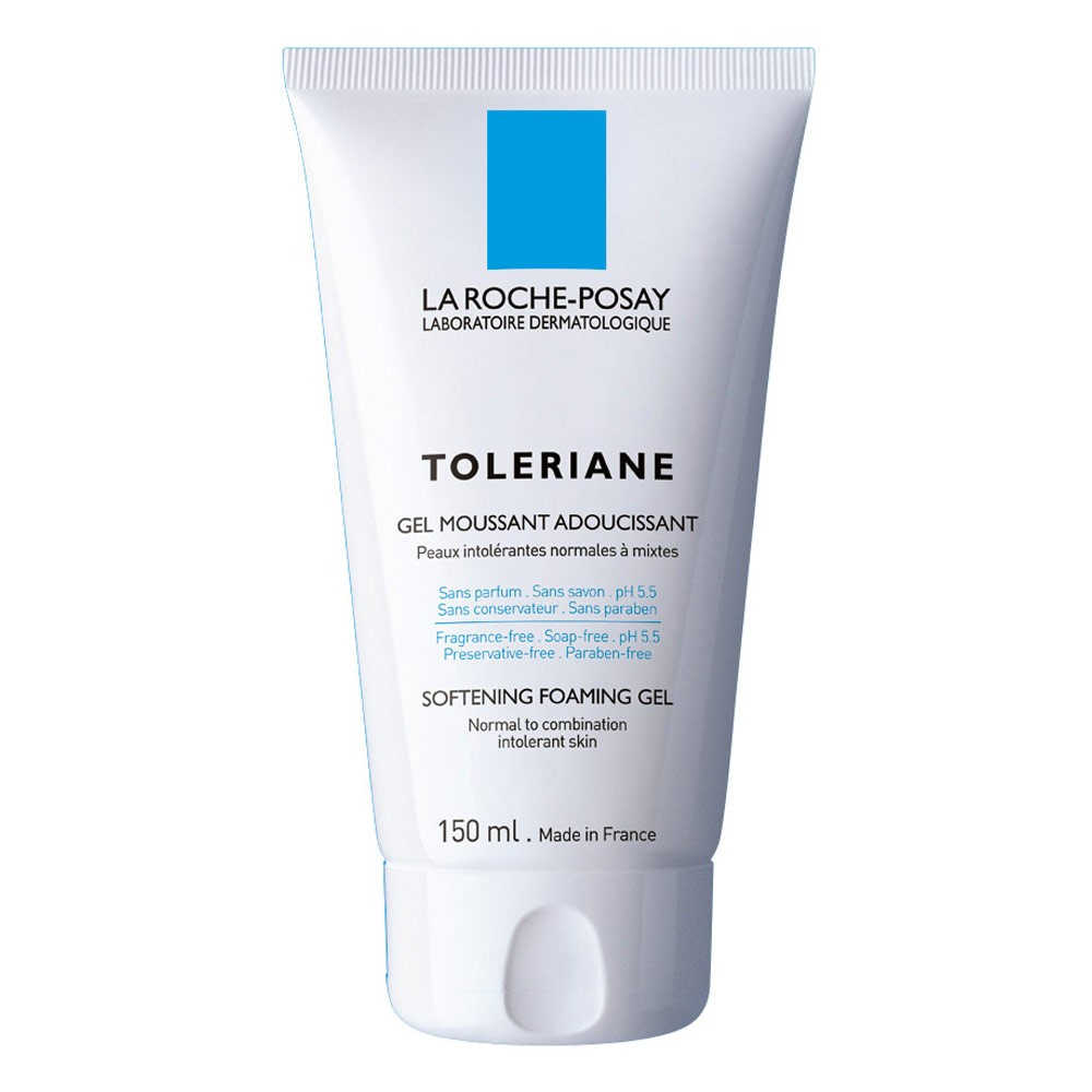 buy toleriane softening foaming gel 150 ml by la roche. Black Bedroom Furniture Sets. Home Design Ideas