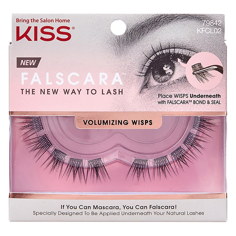 Buy Falscara Eyelash Wisps Volumizing 1 Pack By Kiss Online Priceline