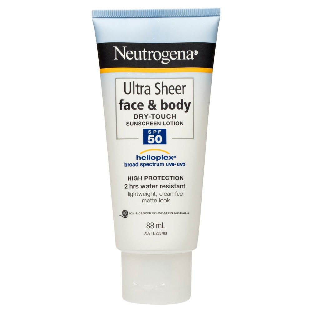 Buy Ultra Sheer Face Sunscreen Lotion Spf50 88 Ml By Neutrogena