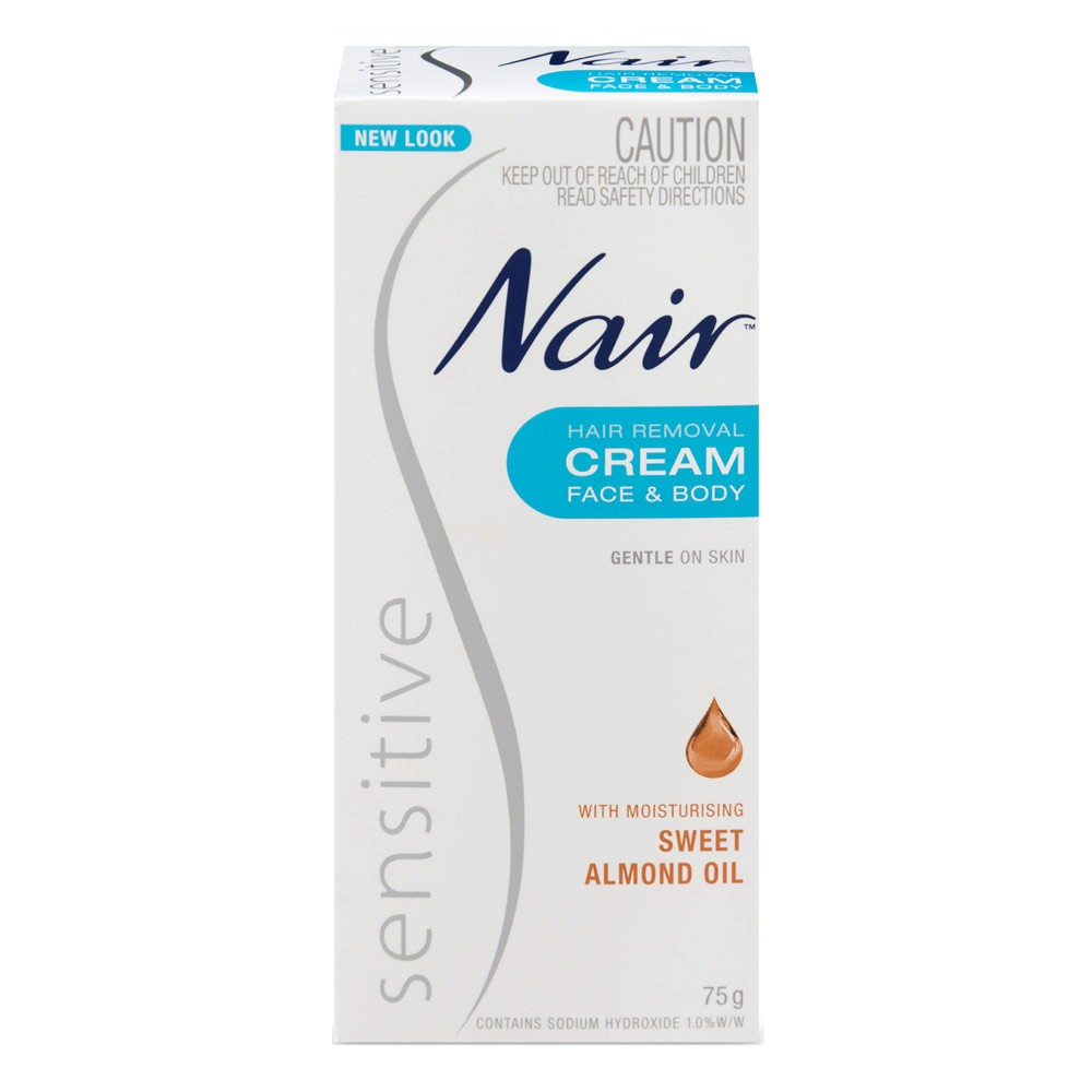 Buy Sensitive Hair Removal Cream 75 G By Nair Online Priceline