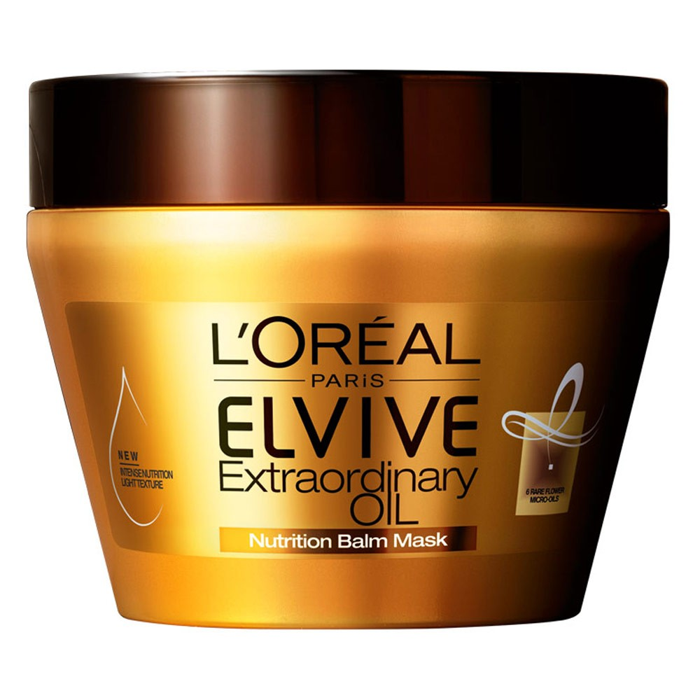 Buy Elvive Extraordinary Oil Nutrition Balm Mask 300 Ml By