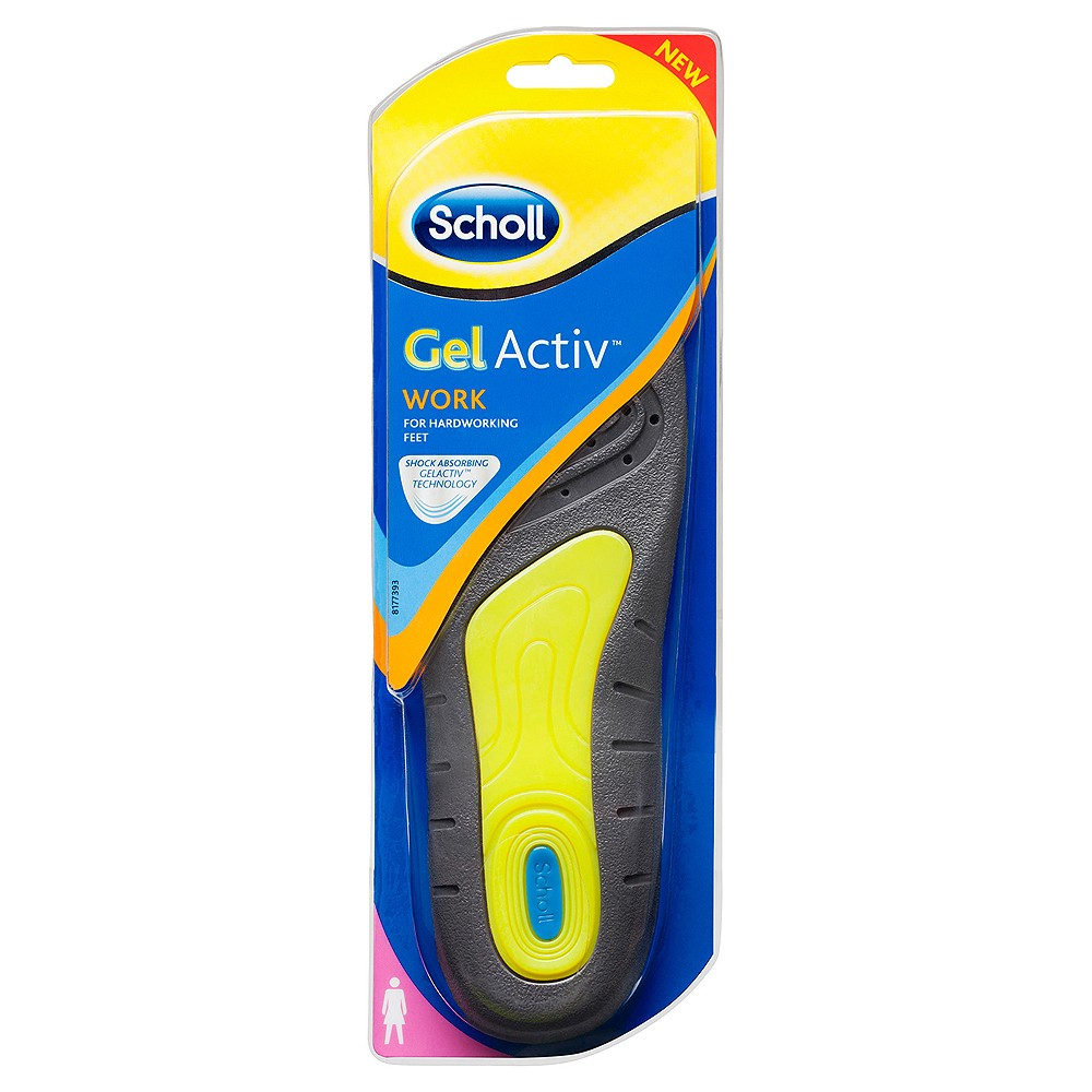 Buy Gel Activ Work Insoles Women Pair Scholl