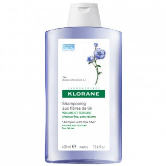 Klorane Shampoo with Flax Fibre 400 mL