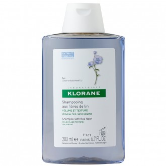 Klorane Shampoo with Flax Fibre 200 mL