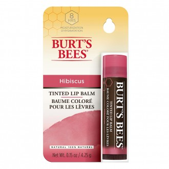 Burts Bees Naturally Tinted Lip Balm in Hibiscus 4.3 g