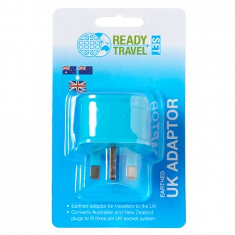 Ready Set Travel Adaptor AUS to UK 1 ea