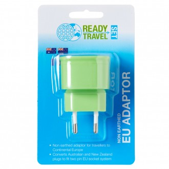 Ready Set Travel Adaptor AUS to Europe 1 ea