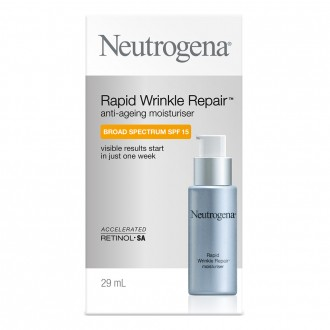 Neutrogena Rapid Wrinkle Repair Anti-ageing Day Moisturiser Broad Spect 29 mL