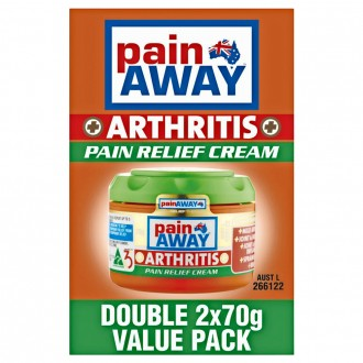 Pain Away Arthritis Pain Relief Cream Double Value Pack 140 g