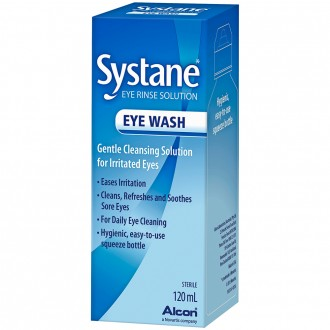 Systane Eye Wash 120 mL