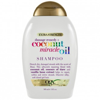 Ogx Extra Strength Damage Remedy + Coconut Miracle Oil Shampoo 385 mL