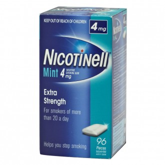 Nicotinell Mint 4mg Nicotine Chewing Gum 96 pack
