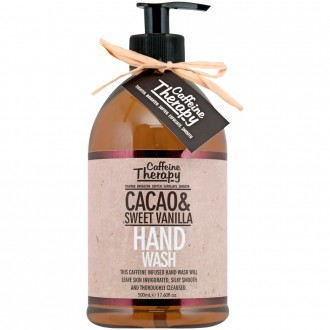 Camille & Mae Caffeine Therapy Cacao & Sweet Vanilla Hand Wash 500 mL