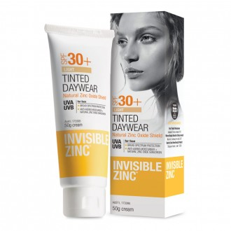 Invisible Zinc Tinted Daywear Light SPF30+ 50 g