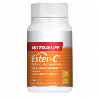 Nutralife Ester-C® 1000mg + Bioflavonoids 50 tablets